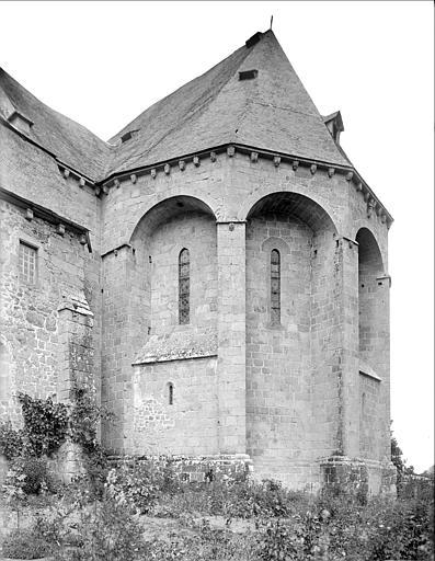 Eglise : abside, côté sud-est