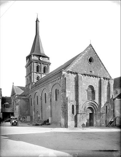 Eglise du prieuré Saint-Gaultier