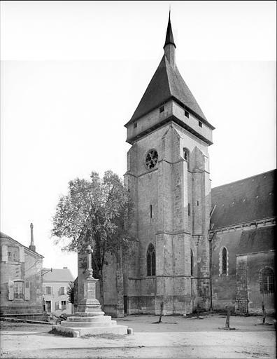 Façade nord : clocher