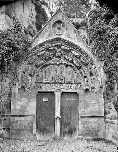 Portail de la façade sud