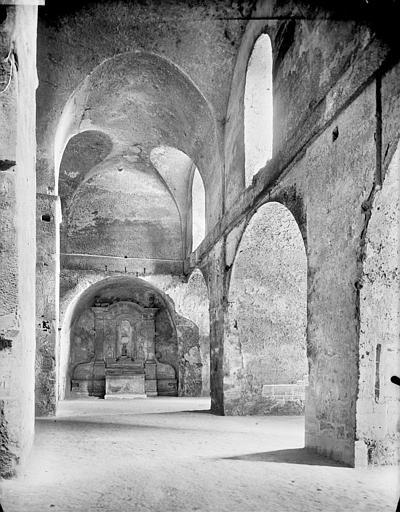 Vue intérieure du transept