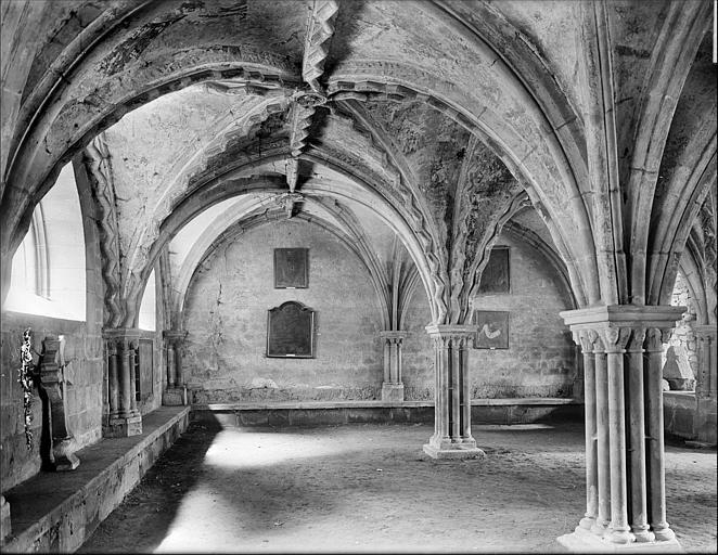 Salle capitulaire : vue intérieure