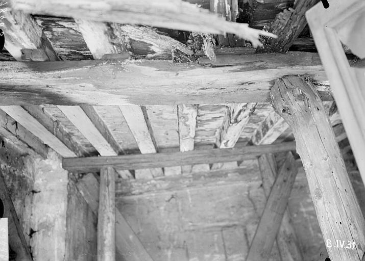 Plafond des bâtiments proches