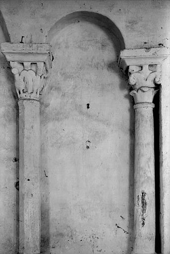 Arcature aveugle : colonnettes