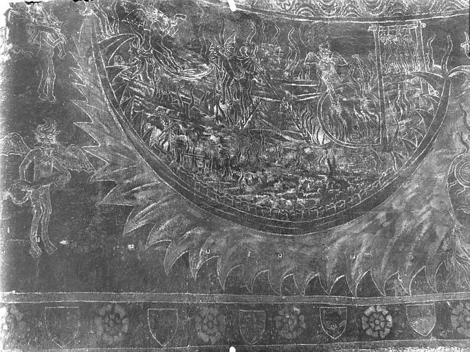 Peintures murales : les enfers