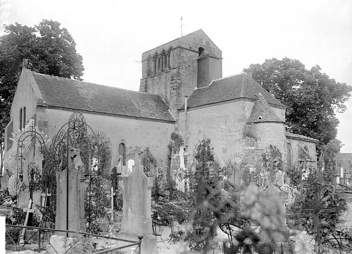 Ensemble sud-est : cimetière