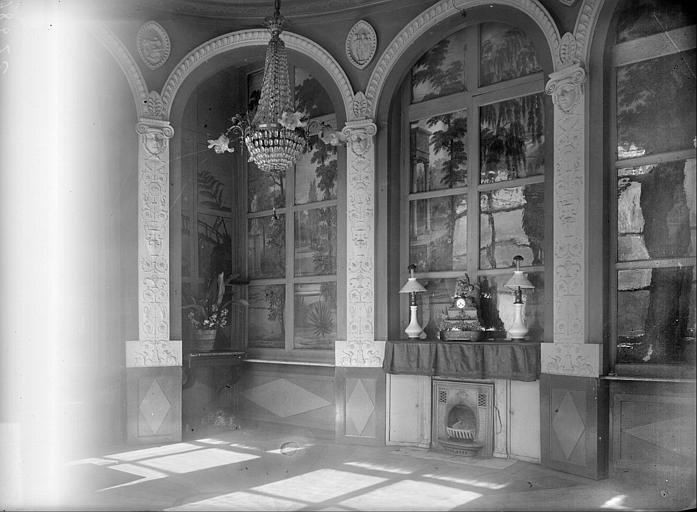 Vue intérieure de salle