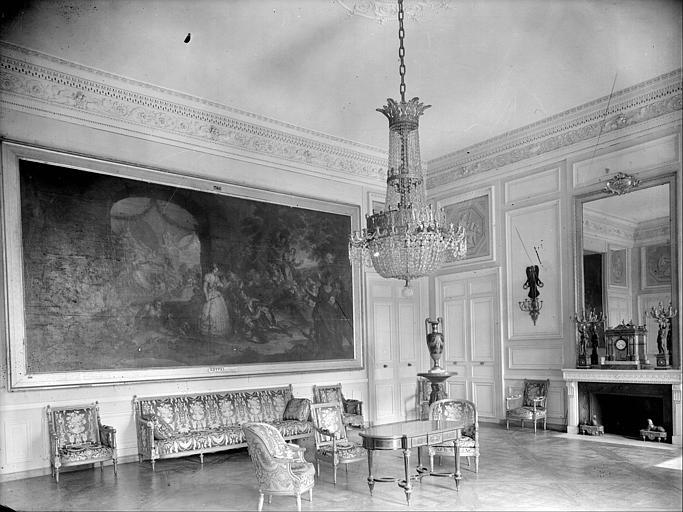 Appartement de la Reine puis du roi de Rome : salon d'attente de Marie-Antoinette
