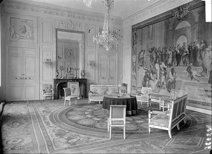 Appartement du Roi puis de l'Empereur : Salon du Conseil