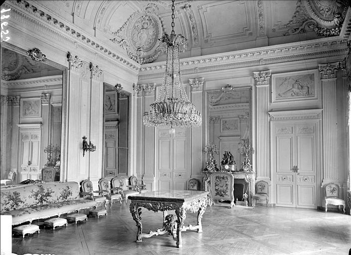 Appartement du Roi puis de l'Empereur : Salon de Famille