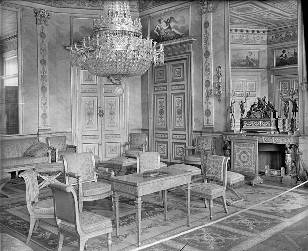 Appartement de l'Impératrice : salon des Dames d'Honneur