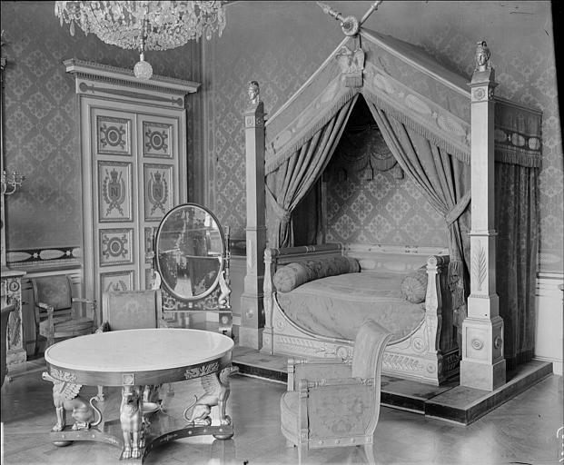 Appartement du Roi puis de l'Empereur : chambre de l'Empereur