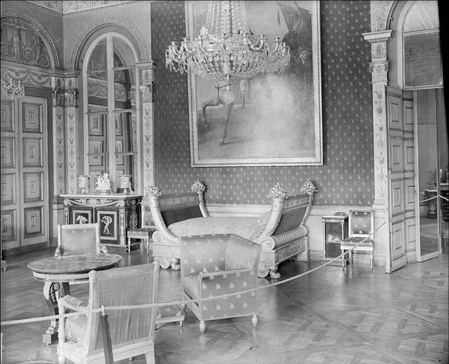Appartement de l'Impératrice : chambre à coucher de Marie-Louise