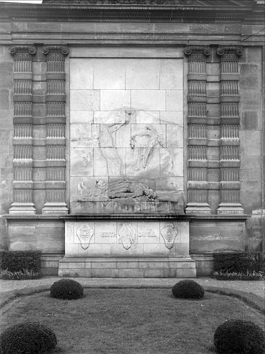 Vue d'ensemble du monument