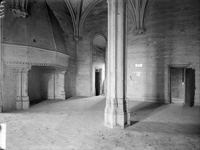 Donjon, salle du second étage