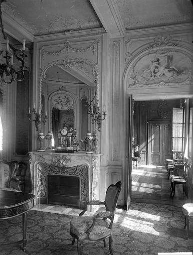 Vue intérieure du salon
