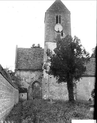 Vue d'ensemble du clocher