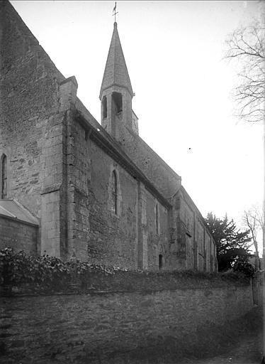 Ensemble de la façade nord vue de l'ouest