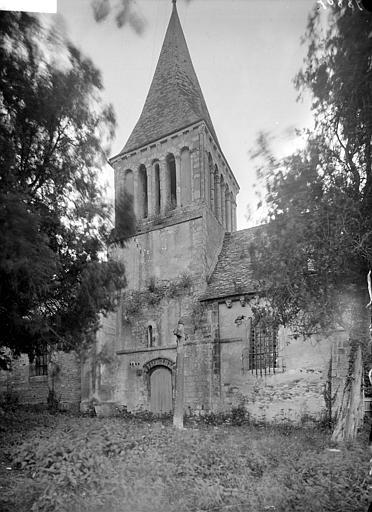 Façade sud : clocher
