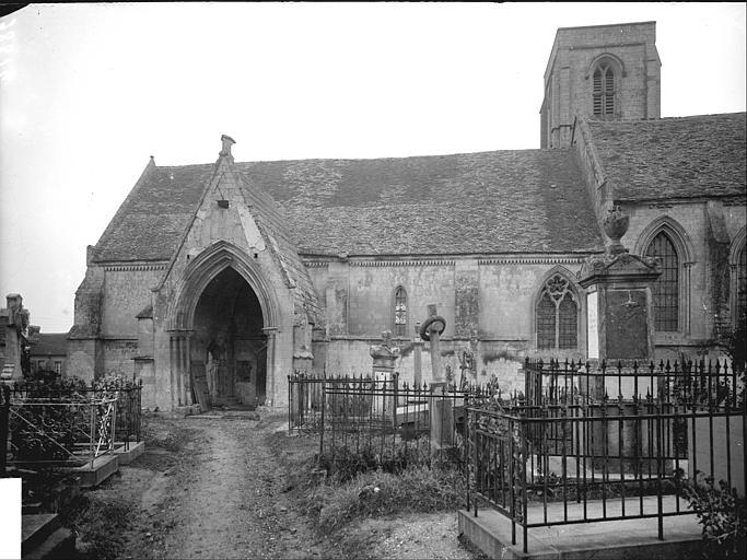 Façade sud : chapelle