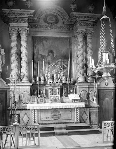 Choeur : maître-autel