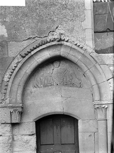 Portail méridional de la nef : tympan
