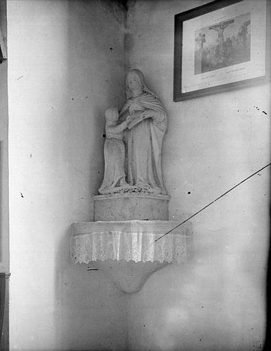 Groupe de sainte Anne éduquant la Vierge