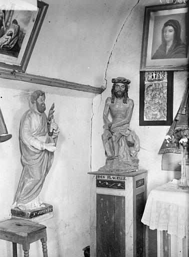 Statue du Christ de pitié, statue de saint Joachim