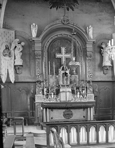 Choeur : maître-autel, tableau de l'Annonciation