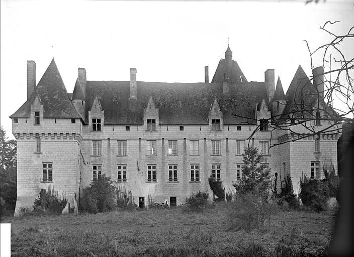 Vue d'ensemble de la façade nord
