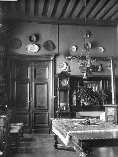 Salle à manger du commandant au premier étage