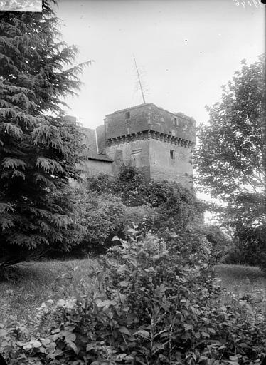 Vue de la tour carré