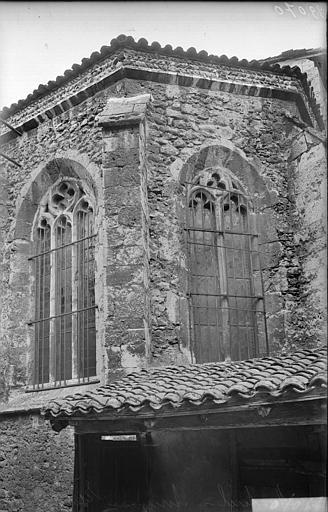 Abside : fenêtres