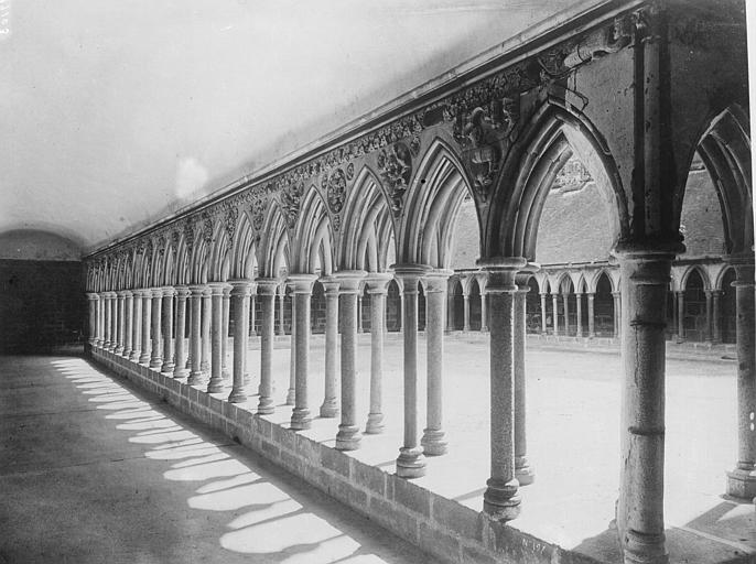 Galerie nord du cloître