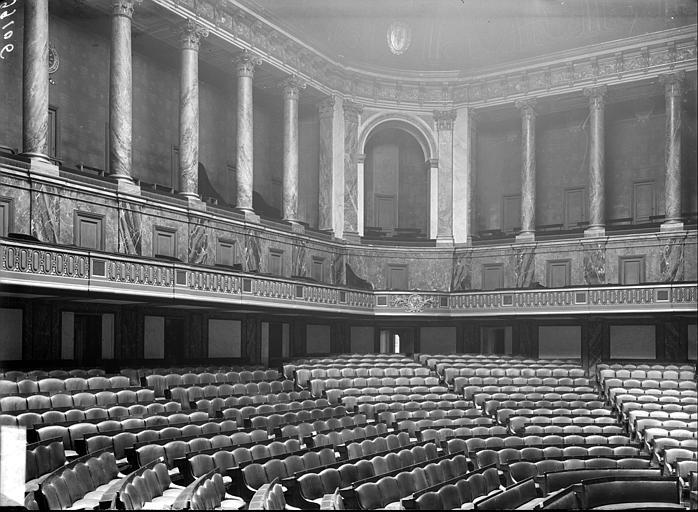 Salle du Congrès : vue de l'hémicycle