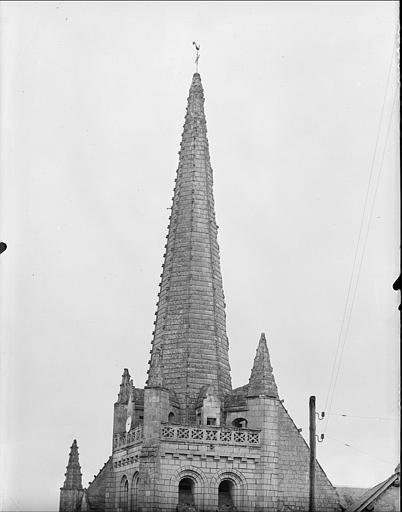 Flèche du clocher