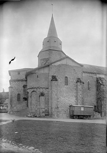 Ensemble nord : clocher, abside