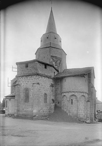 Ensemble nord-est : clocher, abside