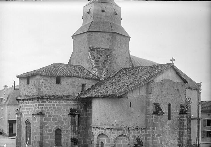 Détail de l'abside côté nord-est