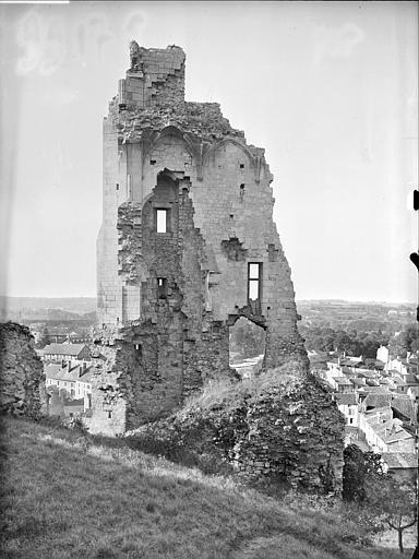 Ruine, ensemble côté nord