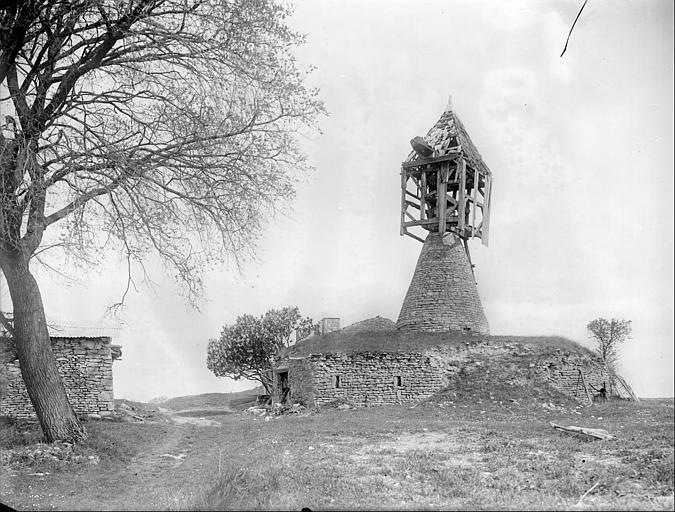 Vue d'ensemble du moulin
