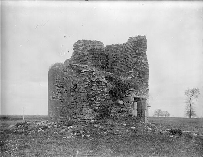 Grenier en ruine