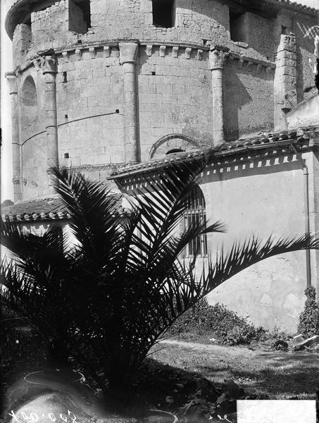 Détail de l'abside