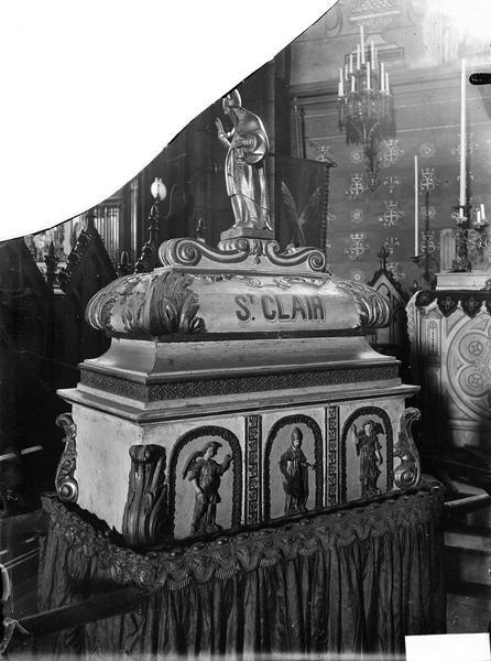 Reliquaire de saint Clair