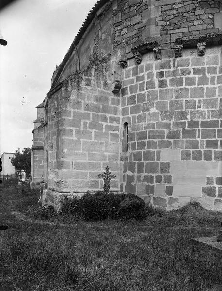 Partie extérieure de l'abside