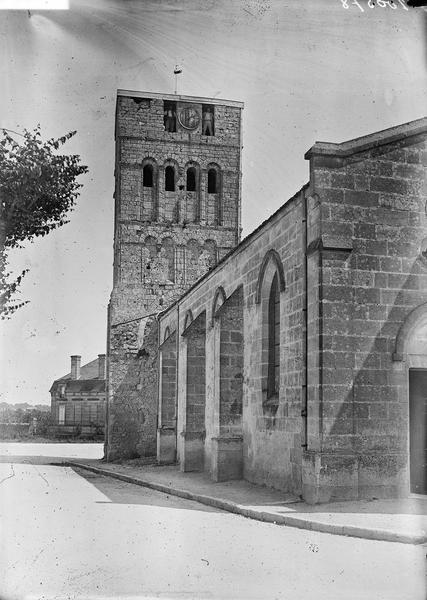 Côté nord et clocher