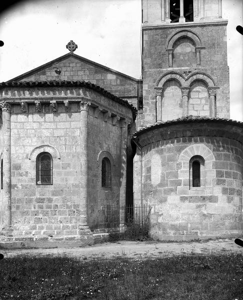 Extérieur de l'abside