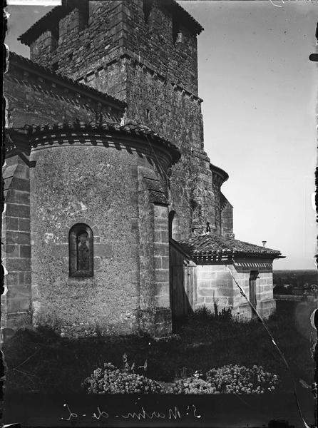 Absidiole et clocher, côté sud