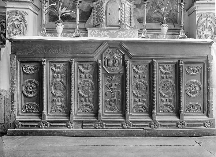 Antependium de la chapelle de la Vierge