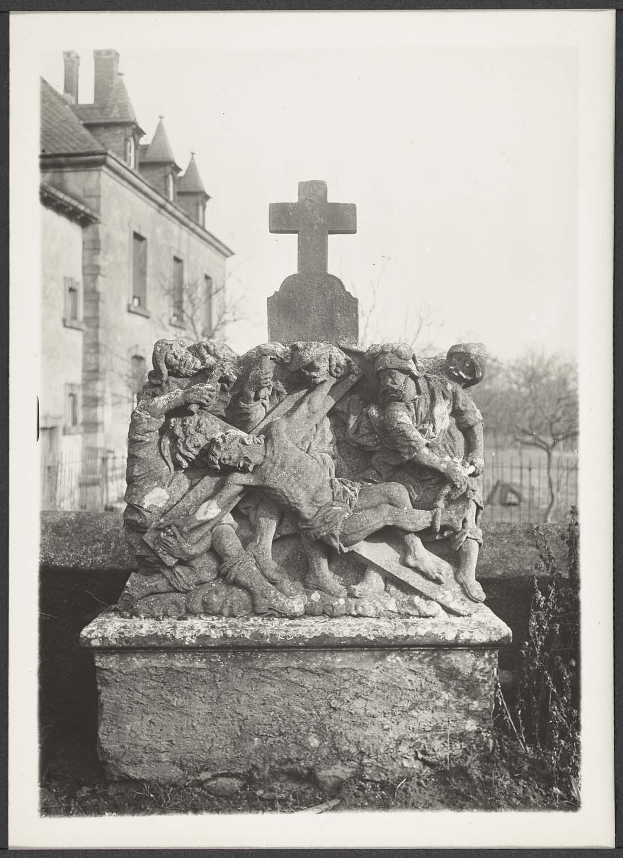 Station du Chemin de croix du cimetière d'Usselskirch
